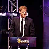 Prince Harry at the WellChild Awards Pictures 2017