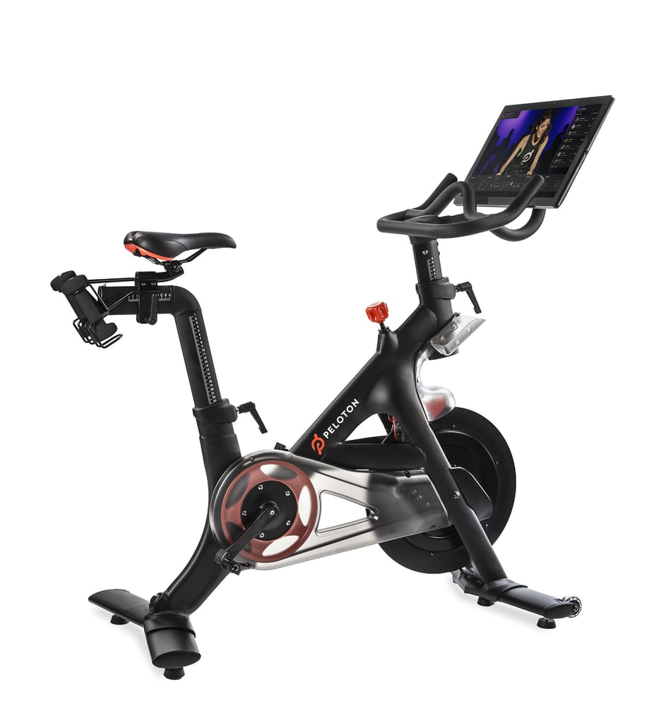 Peloton Bike and Tablet