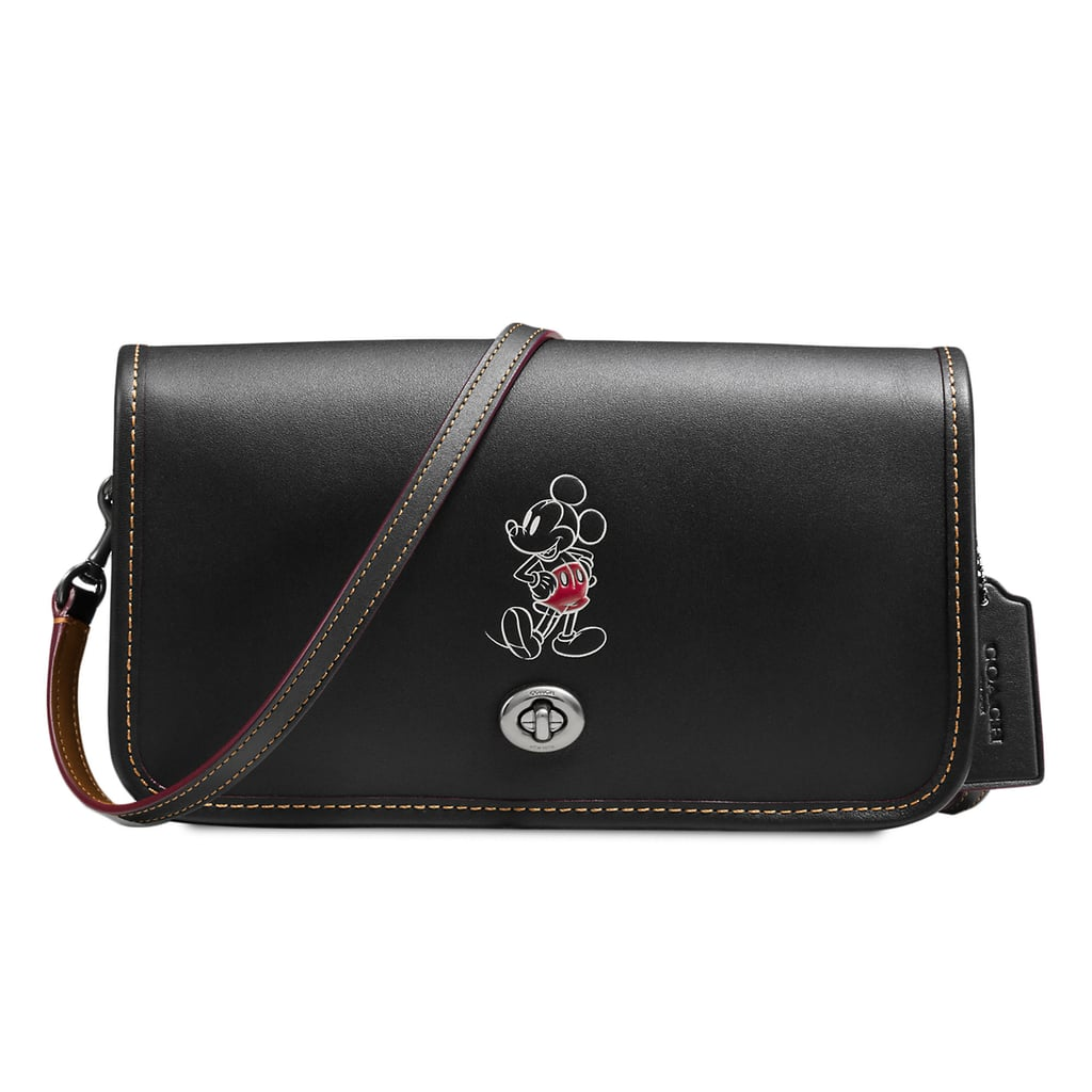 Mickey Mouse Penny Leather Crossbody Bag by Coach ($280)