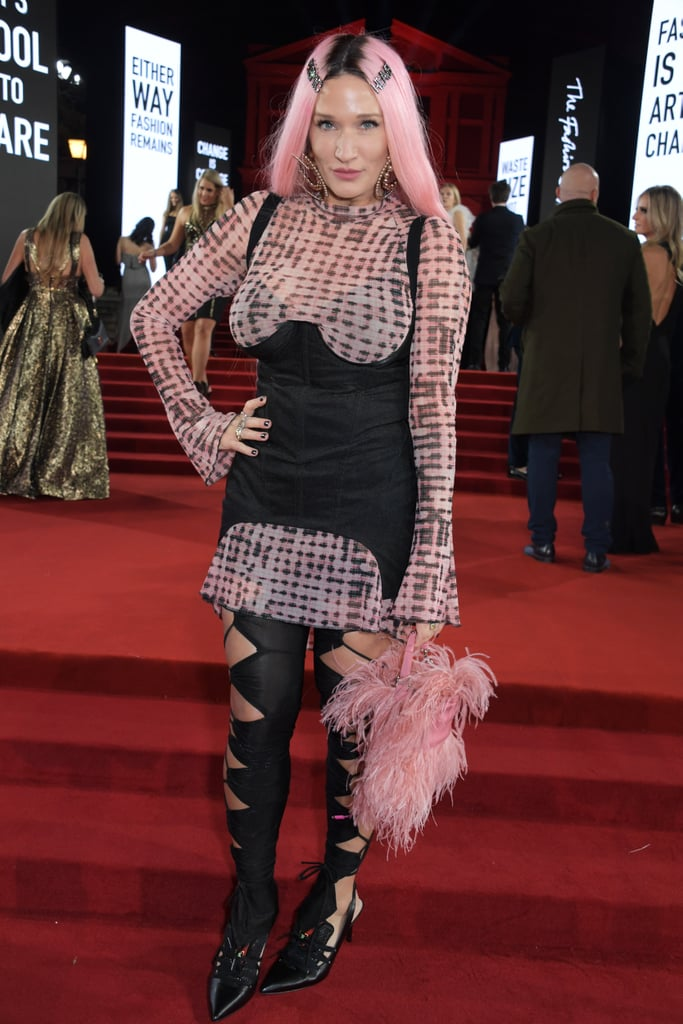 Lulu Kennedy at the British Fashion Awards 2019 in London