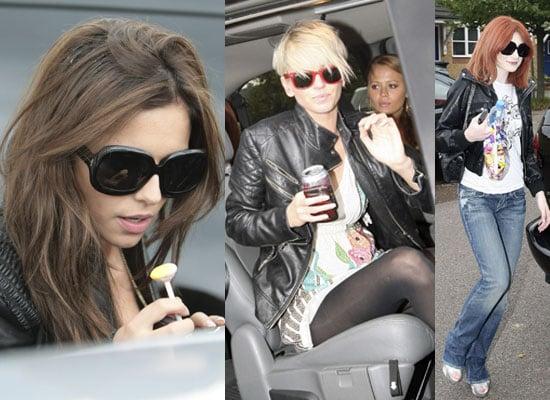 Photos Of Girls Aloud Cheryl Cole, Kimberley Walsh, Nicola Roberts And Sarah Harding After Jo Whiley's Live Lounge
