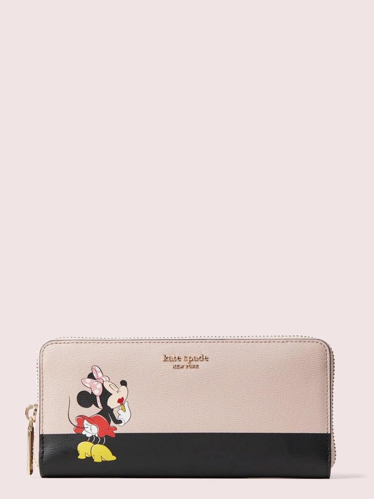 Kate Spade New York x Minnie Slim Continental Wallet