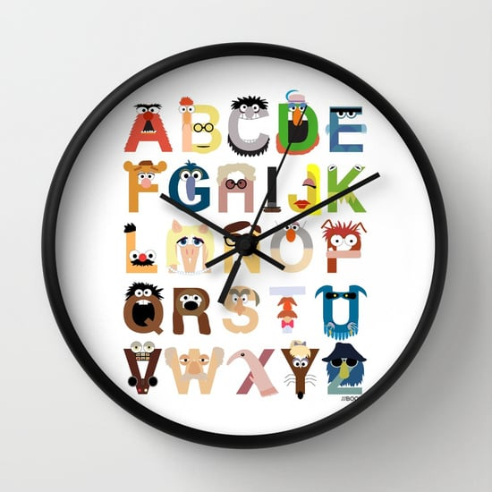 Muppet Alphabet Wall Clock ($24, originally $30)