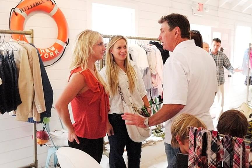 Britney and Her Boys Pop Up at Tommy Hilfiger's Preppy Outpost Before She Hits the Stage