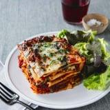 CannaOil Veggie Lasagna Recipe