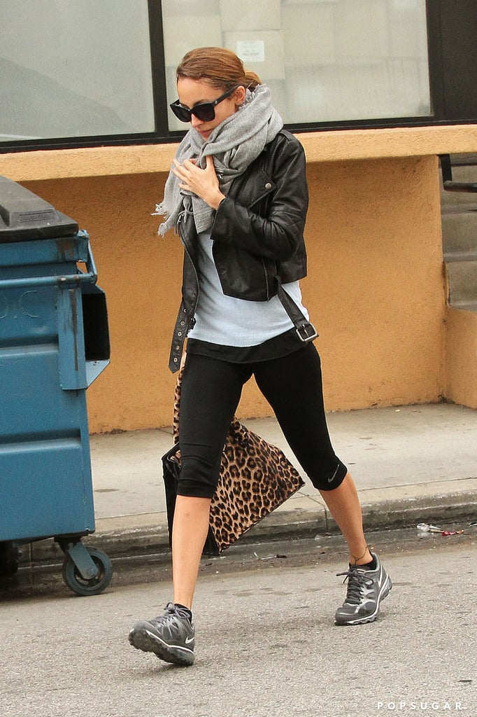 Nicole Richie Goes Wild For a Workout and Gets an Australian Honor