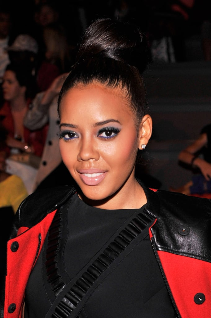 Angela Simmons at Vivienne Tam Spring 2014.