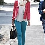 Pink + Turquoise