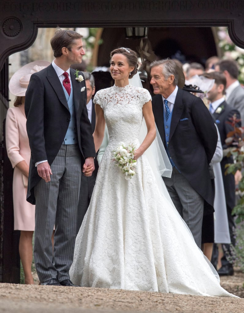 Pippa middleton inspired wedding dresses popsugar for Wedding dress like pippa middleton