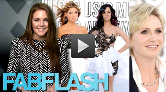 Sugar Shout Out: FabTV: Black and White Trends at 2010 MTV VMAs