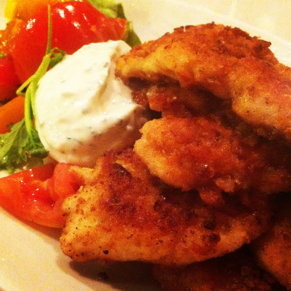 Whole Wheat Pretzel Cutlets