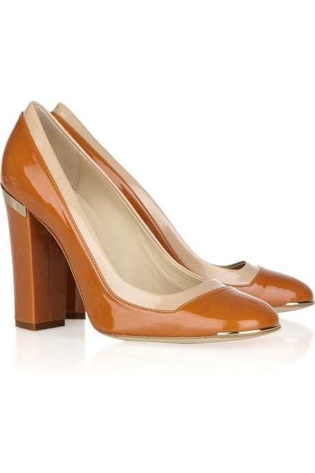 Stella McCartney Faux Patent Leather Pumps ($825)