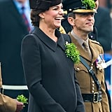 Kate Middleton and Prince William St. Patrick's Day 2015