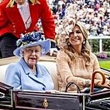 Queen Elizabeth II and Queen Maxima of the Netherlands