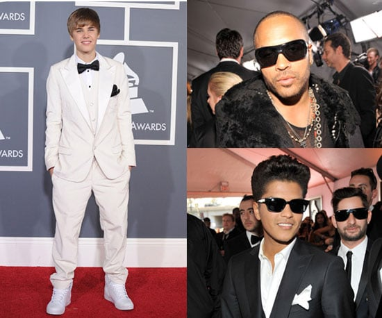 Men at 2011 Grammy Awards including Justin Bieber, Bruno Mars and more!
