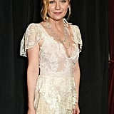 Kirsten Dunst Wears Old Oscars Dress Again Jan. 2017