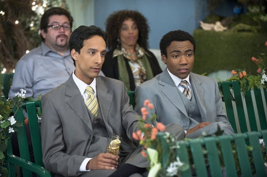 Danny Pudi as Abed and Donald Glover as Troy in Community. Photo courtesy of NBC