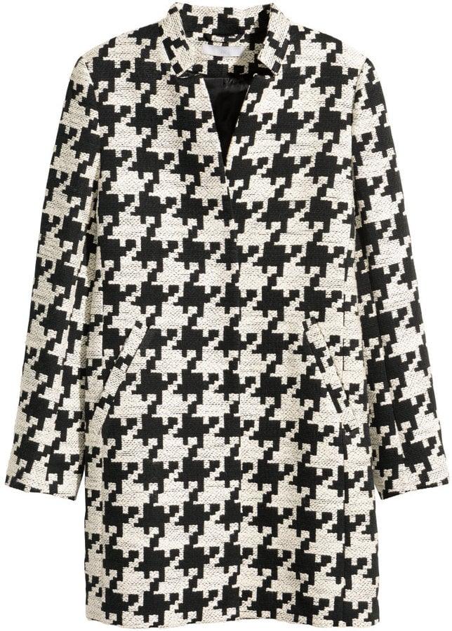 H&M Houndstooth Coat ($99)
