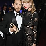 Taylor Swift and Jared Leto mingled inside the bash.