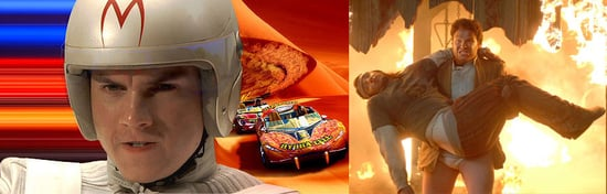 Movie Previews: Pineapple Express, Speed Racer