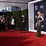 Taylor Swift at the American Music Awards 2019