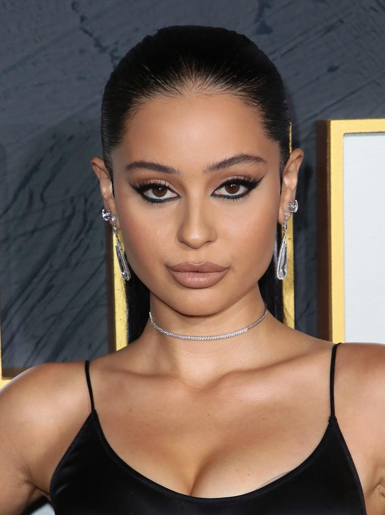 Alexa Demie's Winged Eyeliner, 2019