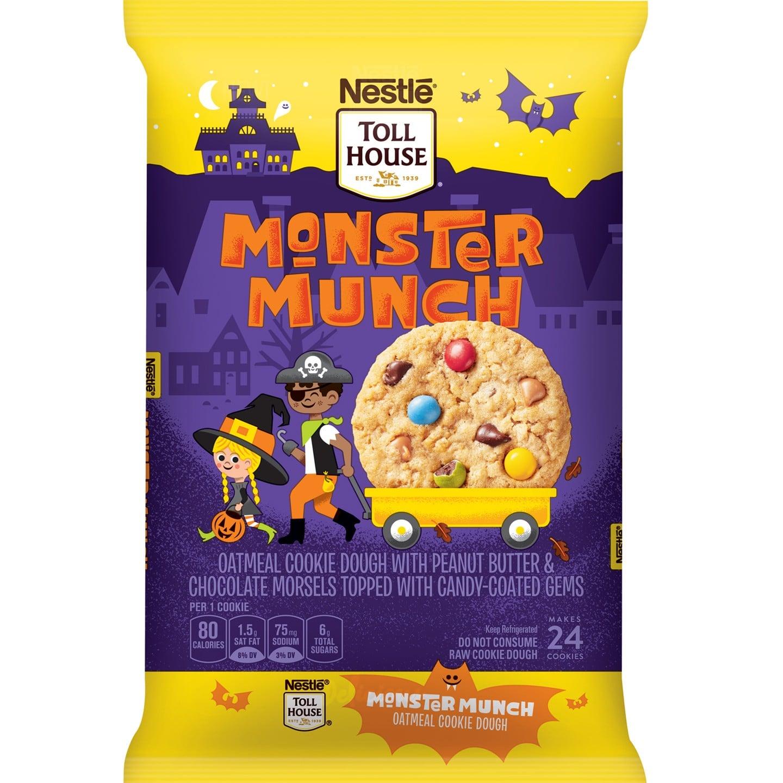 Nestle Tollhouse Monster Munch Halloween Cookie Dough Popsugar Family