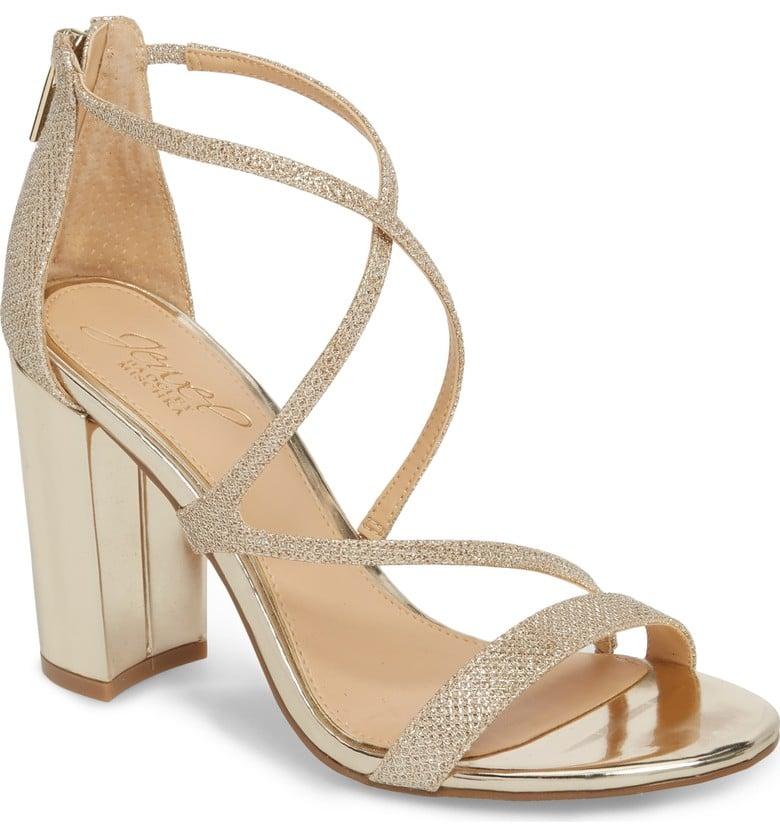 7ff1d8686b7 Badgley Mischka Gale Block Heel Sandal