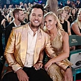 Pictured: Luke Bryan and Caroline Boyer