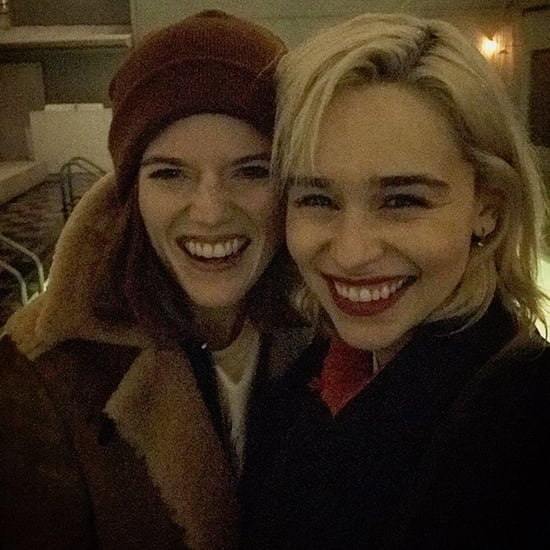 Emilia Clarke and Rose Leslie Instagram Photo February 2018