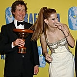 Hugh Grant and Sandra Bullock were full of laughs during LA's 12th Annual BAFTA/LA Britannia Awards in November 2003.