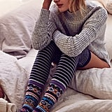 Winter Fair Isle Over-the-Knee Sock ($16)