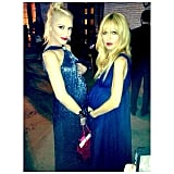 Gwen Stefani and Rachel Zoe stood bump-to-bump while at the Annenberg Gala dinner. Source: Instagram user rachelzoe
