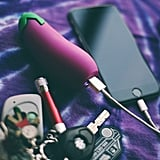 Eggplant Emoji Power Bank