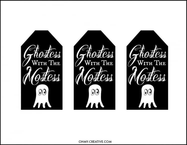 Ghostess with the mostess free printable halloween gift tags ghostess with the mostess negle Images