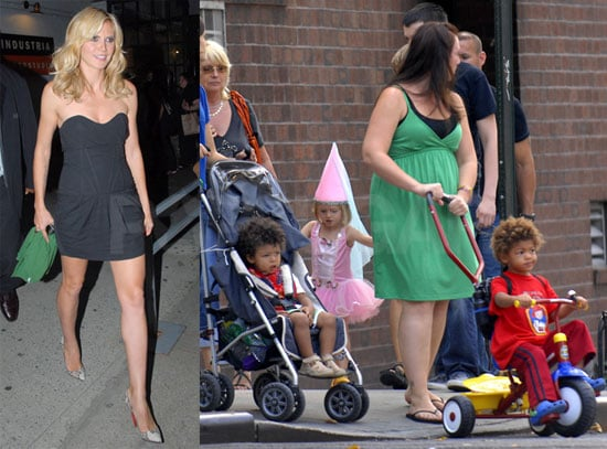 Photos of Heidi Klum, Leni Klum, Henry Samuel Dressed in Costume