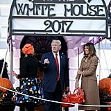 Melania Trump's $3,290 Halloween Coat Is Definitely Not a Costume — It's Her Go-To