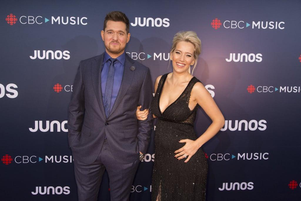 Michael Buble and Luisana Lopilato at the 2018 Juno Awards