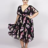 Scarlett & Jo Hankerchief Floral Dress ($117)