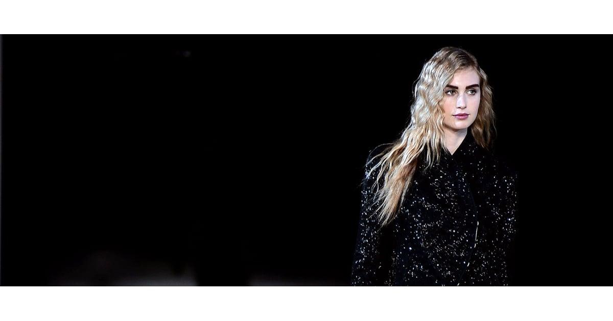 Giorgio Armani Fall 2014 Hair and Makeup