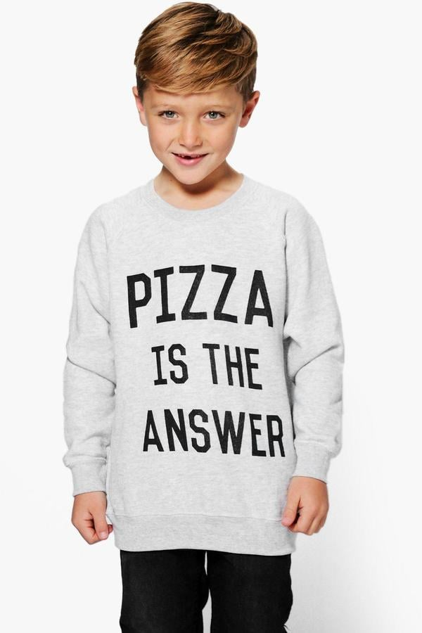 Pizza Is The Answer Sweat Top