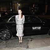 Jessica Chastain attended a Vanity Fair and Juicy Couture bash held in association with Shailene Woodley's All It Takes charity.