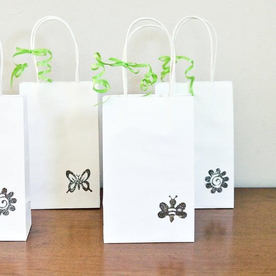 Dollar Store Wedding Favor Bags