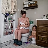 Candid Photo Series on Breastfeeding