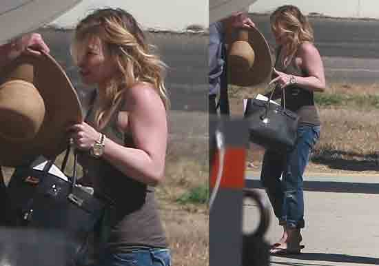 Pictures of Hilary Duff's New Wedding Ring