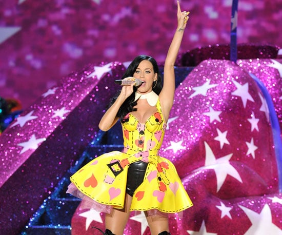 Slide Picture of Katy Perry Performing at Victoria's Secret Fashion Show in New York