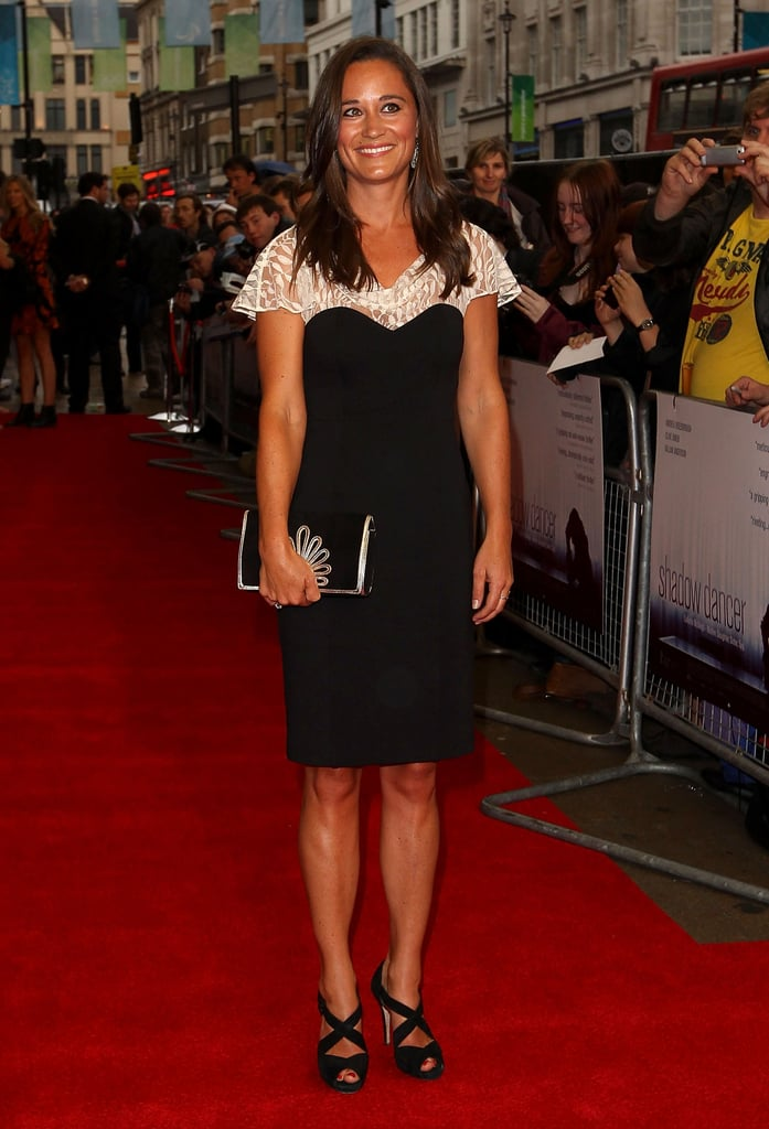 Pippa Middleton turned heads on the red carpet.