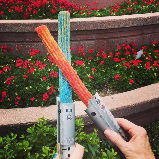 Star Wars Lightsaber Churros at Disneyland