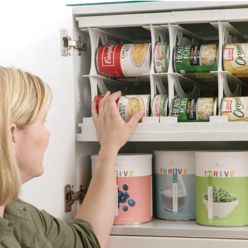 Shelf Reliance Pantry Can Organizers