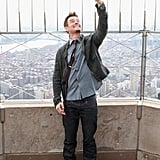 Josh Duhamel took his selfie to a whole new level, posing for a pic on the top of the Empire State Building in February.
